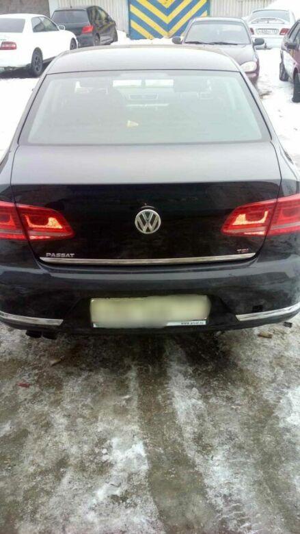 Volkswagen фото после удаления вмятины