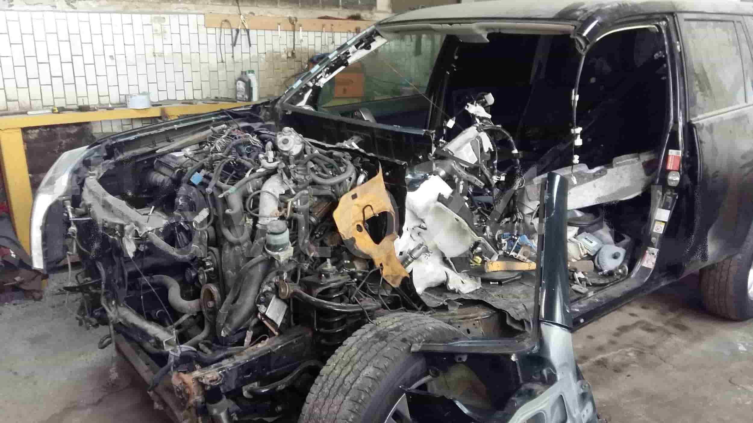 фото кузовной ремонт тойта