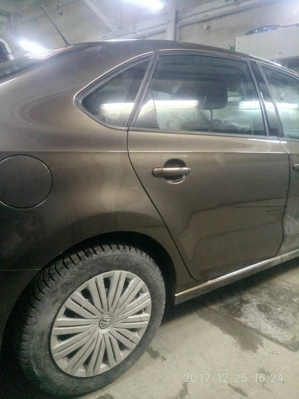 Volkswagen фото после кузовного ремонта